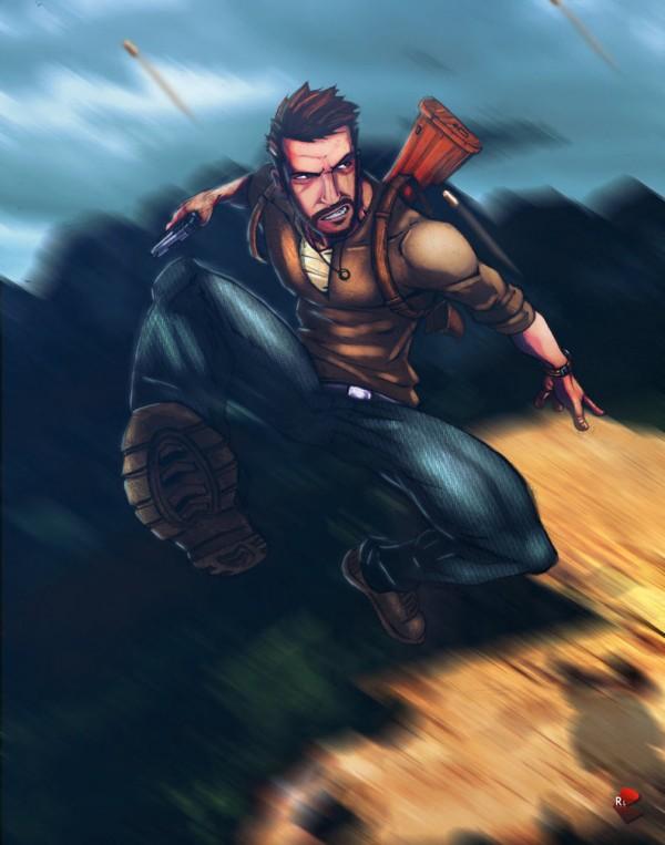 nathan-drake-illustrations-super-heros-ryan-lewis