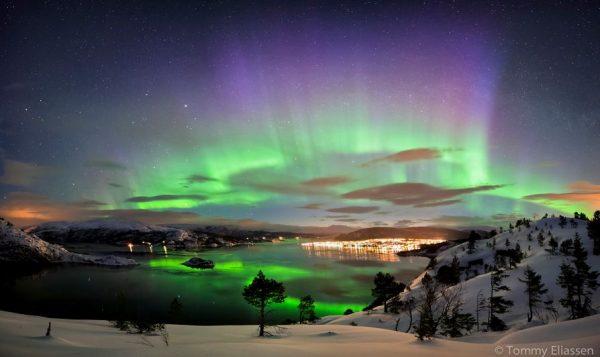 Photographie du jour #340 : Aurora on Hemnesberget