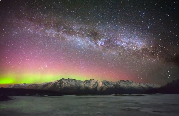 Photographie du jour #336 : Aurora, Panstarrs & Andromeda