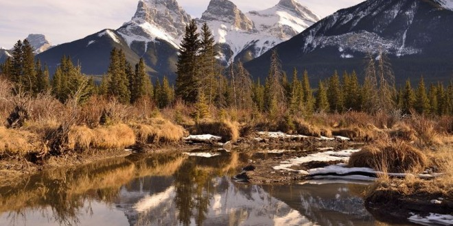 photographie-three-sisters-rocky-mountains