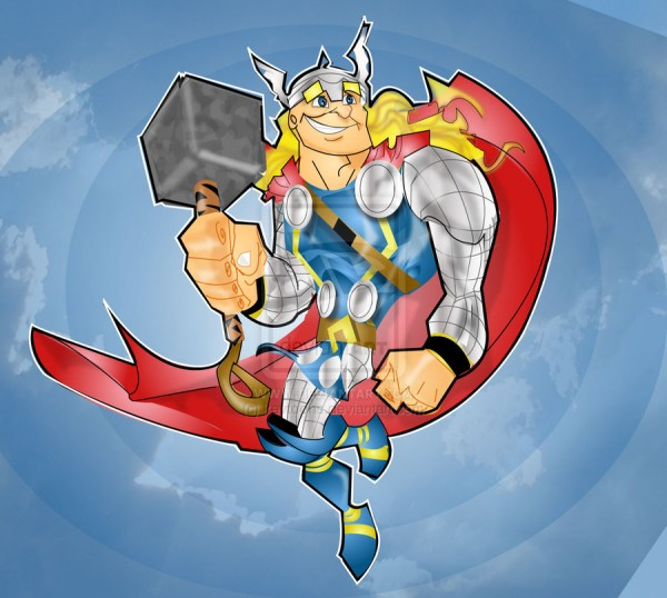 thor-illustrations-cartoons-super-heros-kevtoons
