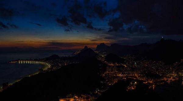 Time lapse du Brésil