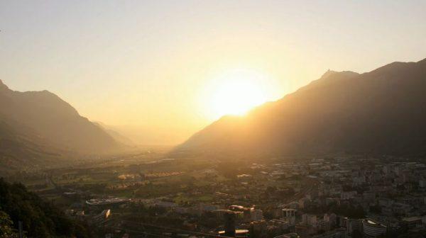 Time lapse du Canton du Valais - Suisse