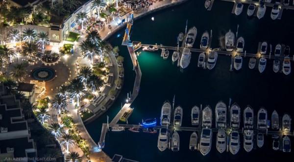 Time lapse de la ville de Dubaï
