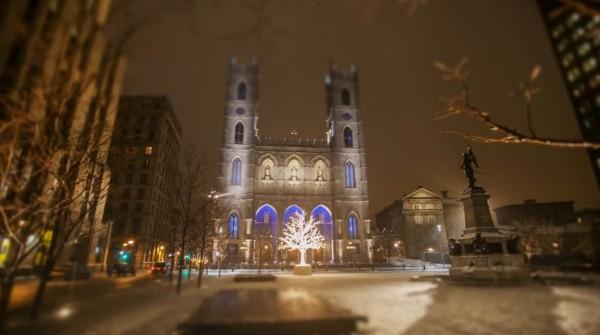 Time lapse d'un hiver à Montréal - Québec