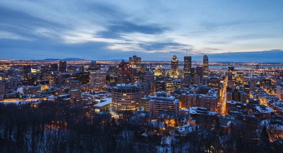 Photo of Time lapse d'un hiver à Montréal – Québec