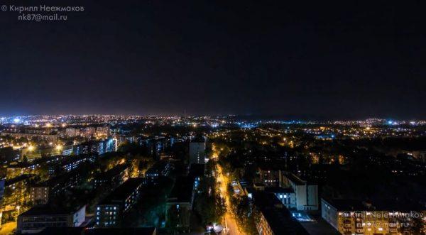 Time lapse de la ville de Kharkiv - Ukraine