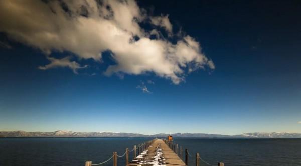 Time lapse du lac alpin d'Amérique du Nord : Tahoe