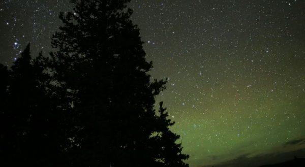 Time lapse sur la beauté de la nature d'Aspen - Colorado