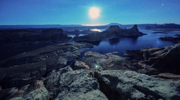Time lapse sur la beauté de la nature Américaine