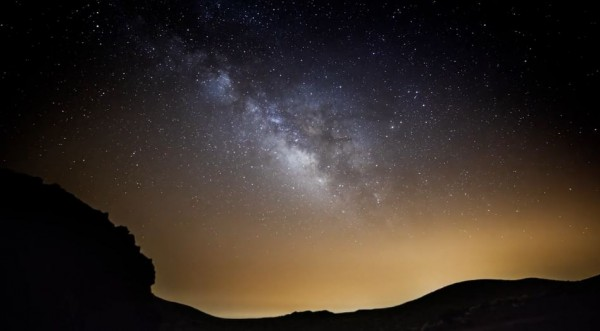 Time lapse sur le parc national du Teide - Espagne