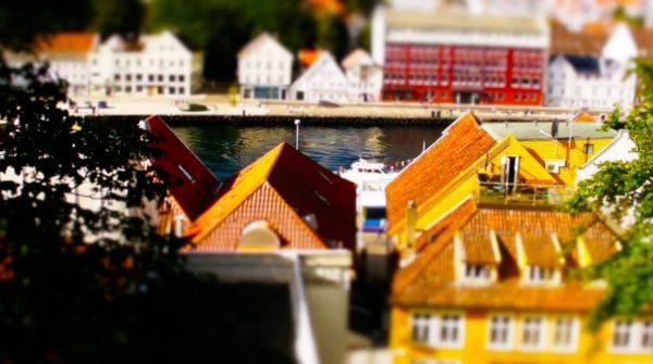 Time lapse utilisant la méthode du Tilt Shift sur la Norvège