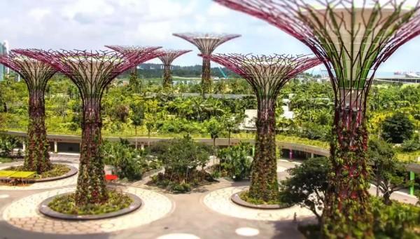 Time lapse de Singapour