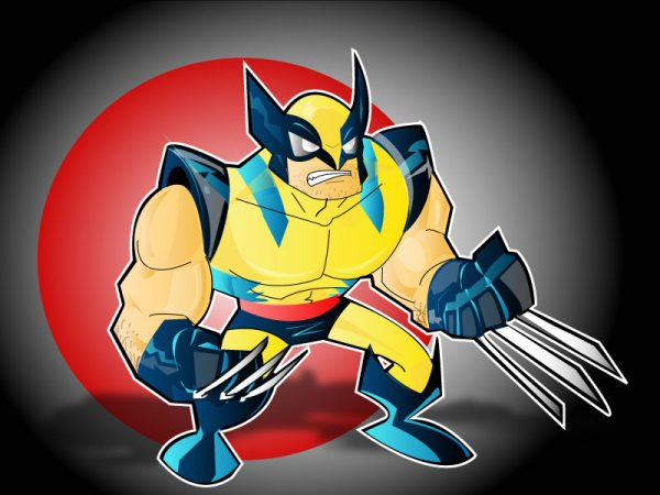 wolverine-illustrations-cartoons-super-heros-kevtoons