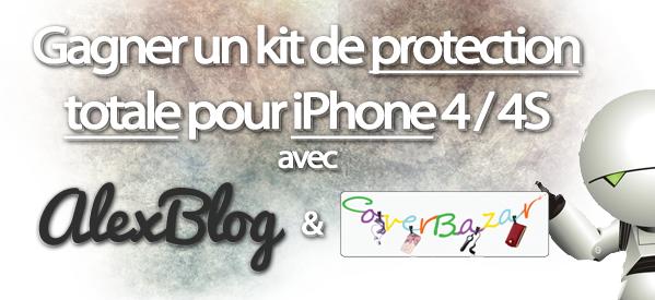 Photo of Concours : Gagne une coque + un film de protection pour iPhone 4 / 4S