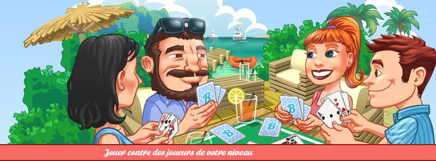 Photo of Partons à la découverte du jeu Facebook « Belote en ligne »