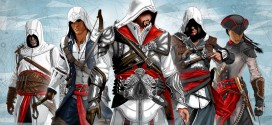 Illustrations sur l'univers d'Assassin's Creed par Vassilis Dimitro