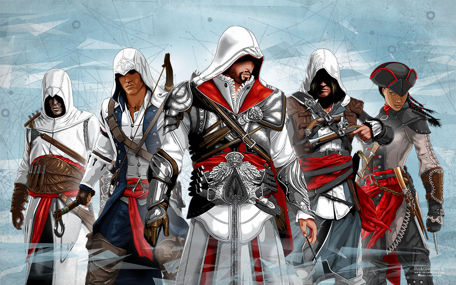 Photo of Illustrations sur l'univers d'Assassin's Creed par Vassilis Dimitro