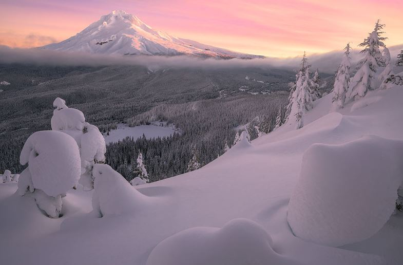 Photo of Photographie du jour #355 : Mt. Hood Winter