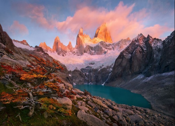 Photographie du jour #374 : Rise on Mount Fitz Roy
