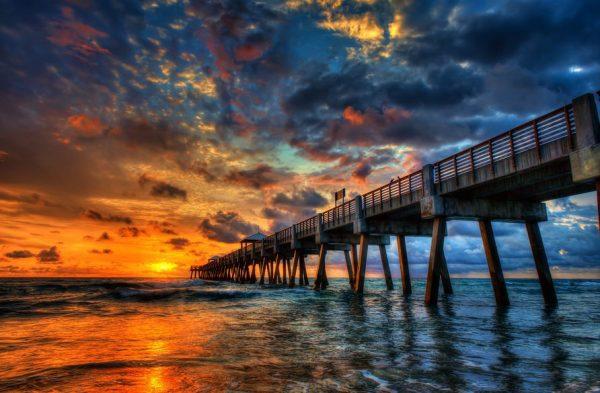 Photographie du jour #353 : Sunrise along Juno Beach
