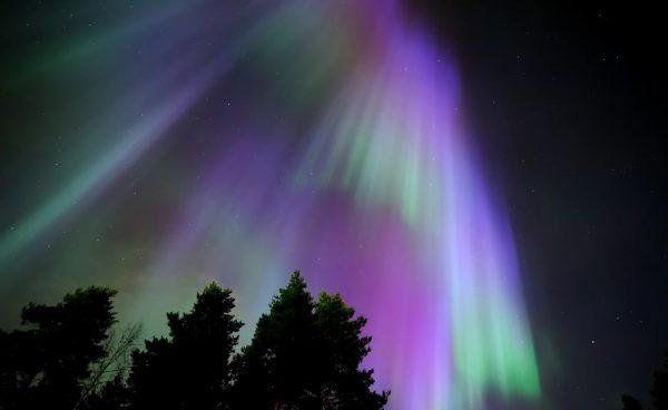 Time lapse sur les Aurores Boréales de Finlande
