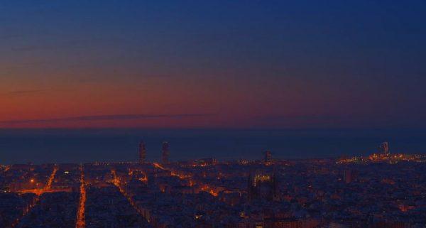 Time lapse de Barcelone - Espagne