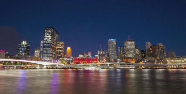 Time lapse de la Brisbane - Australie