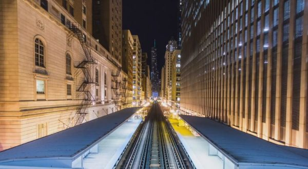 Time lapse de Chicago  - Etats-Unis