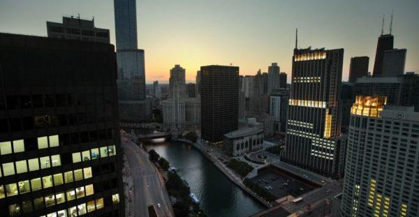 Time lapse de Chicago sur un air de classique