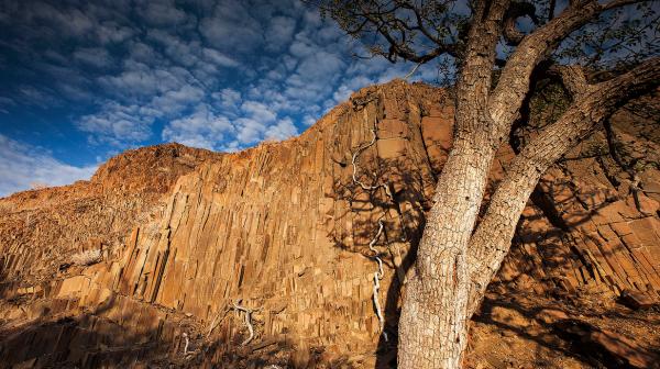 Time lapse du désert du Namib - Namibie