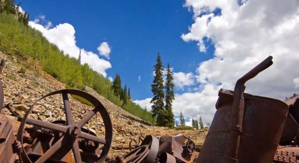 Time lapse d'un été à Aspen - Etats-Unis