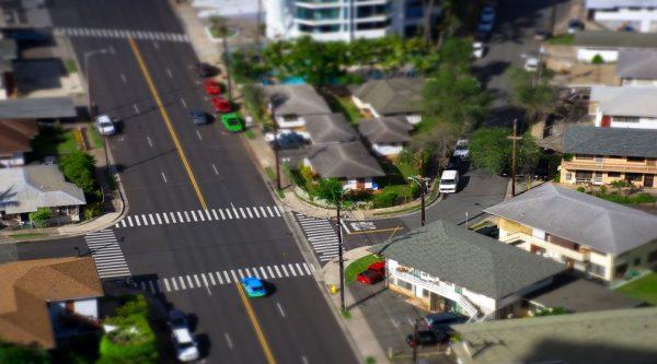 Time lapse d'Hawaï avec des effets Tilt Shift