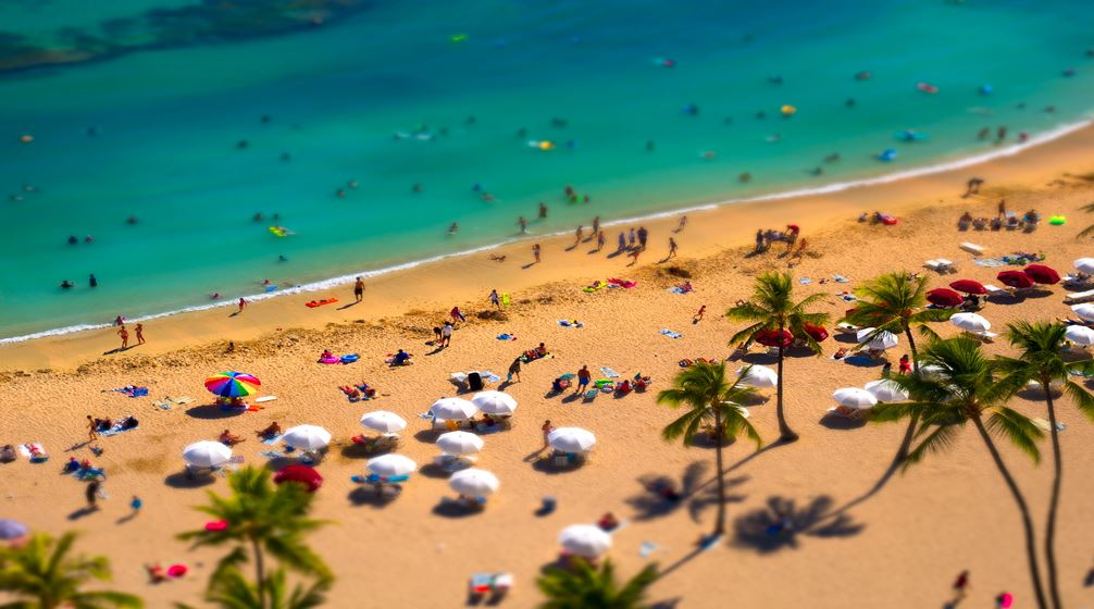 Photo of Time lapse d'Hawaï avec des effets Tilt Shift