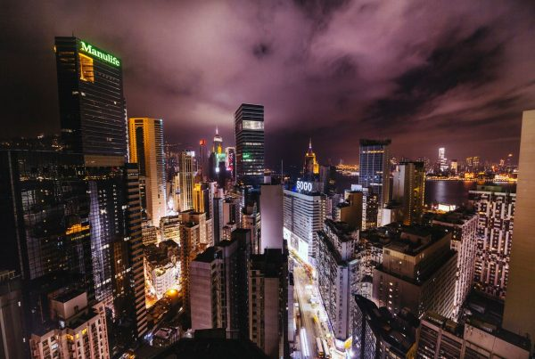 Time lapse d'Hong Kong - Chine