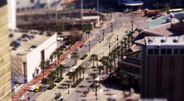 Time lapse sur La Nouvelle-Orléans - Etats-Unis