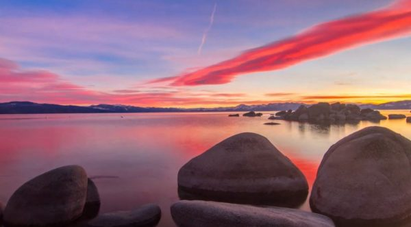 Time lapse du Lac Tahoe - Californie