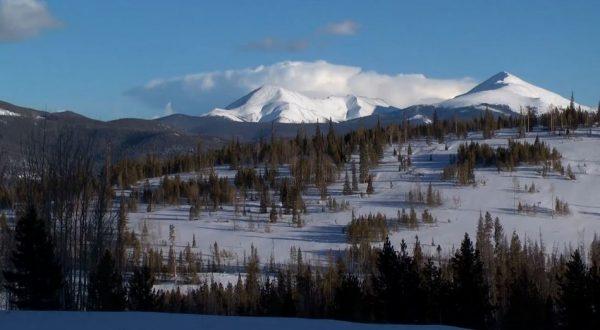 Time lapse sur les montagnes du Colorado - Rocheuses