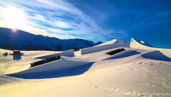 Time lapse de Nine Knights - Mottolino Fun Mountain en Italie