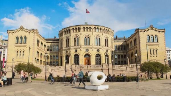 Time lapse de la ville d'Oslo - Norvège
