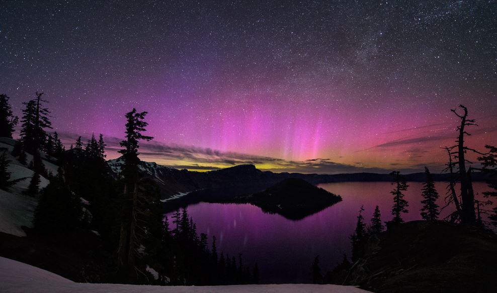 Photo of Les Aurores Polaires du Parc national de Crater Lake en vidéo