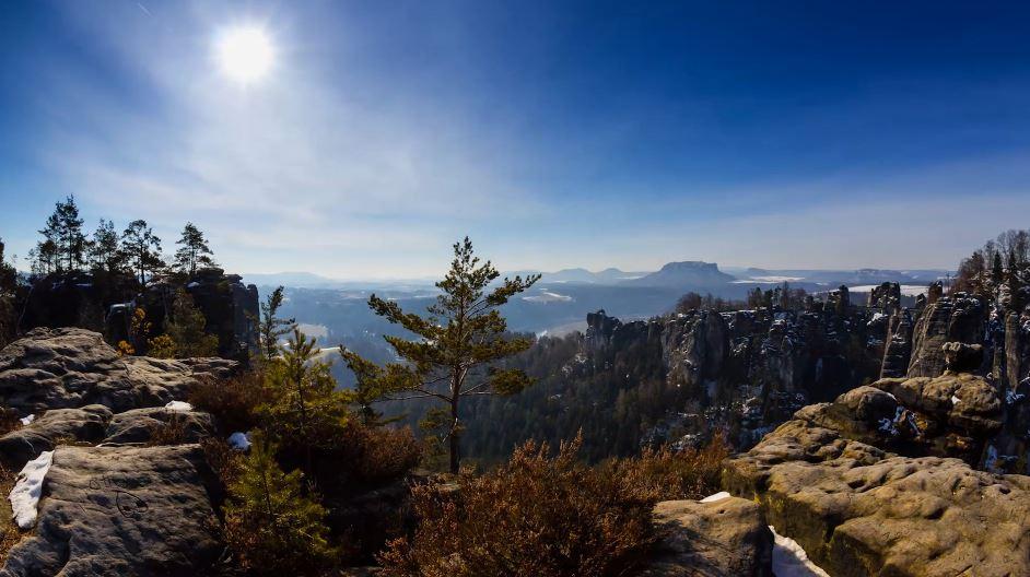 Photo of La beauté de la Suisse saxonne en vidéo – time lapse