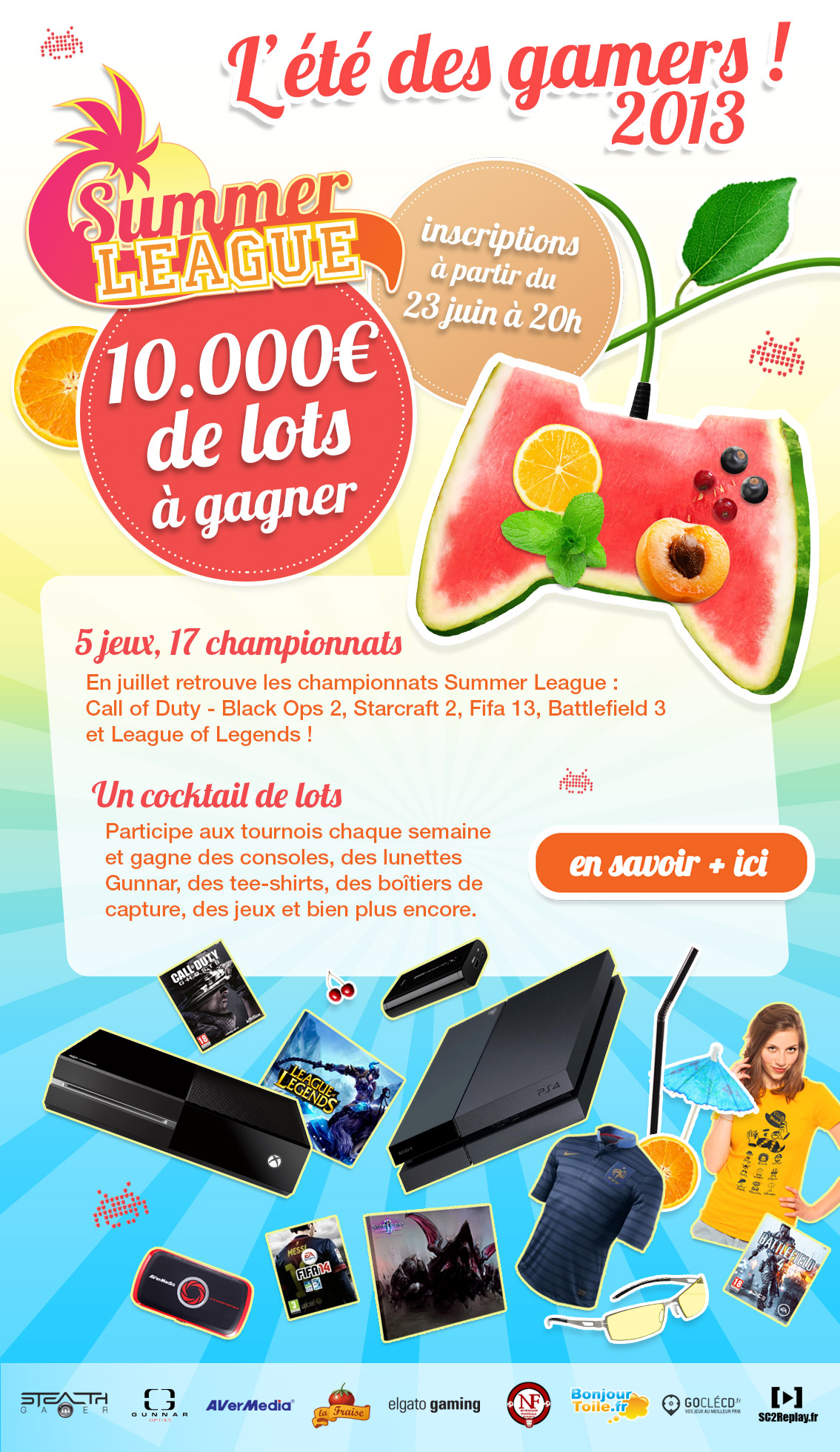 Summer league 2013 de Glory4Gamers