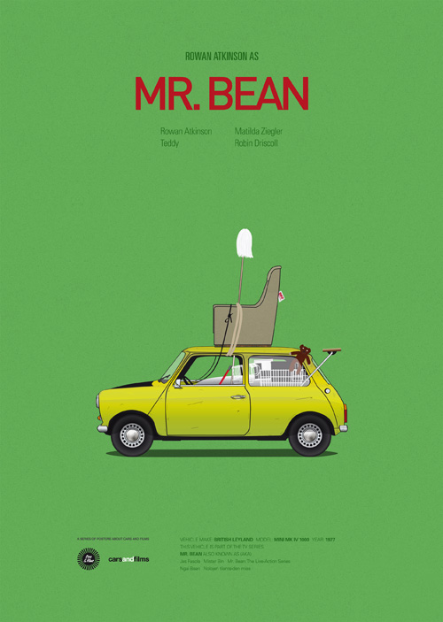 Photo of Cars and Films – Affiches minimalistes par Jesús Prudencio
