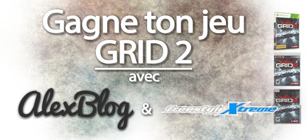 Photo of Concours : Gagne ton nouveau jeu GRID 2 grâce à freestylextreme