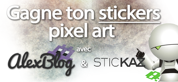 Photo of Concours : Gagne ton Stickers pixel art Fun Invader Family avec SticKaz