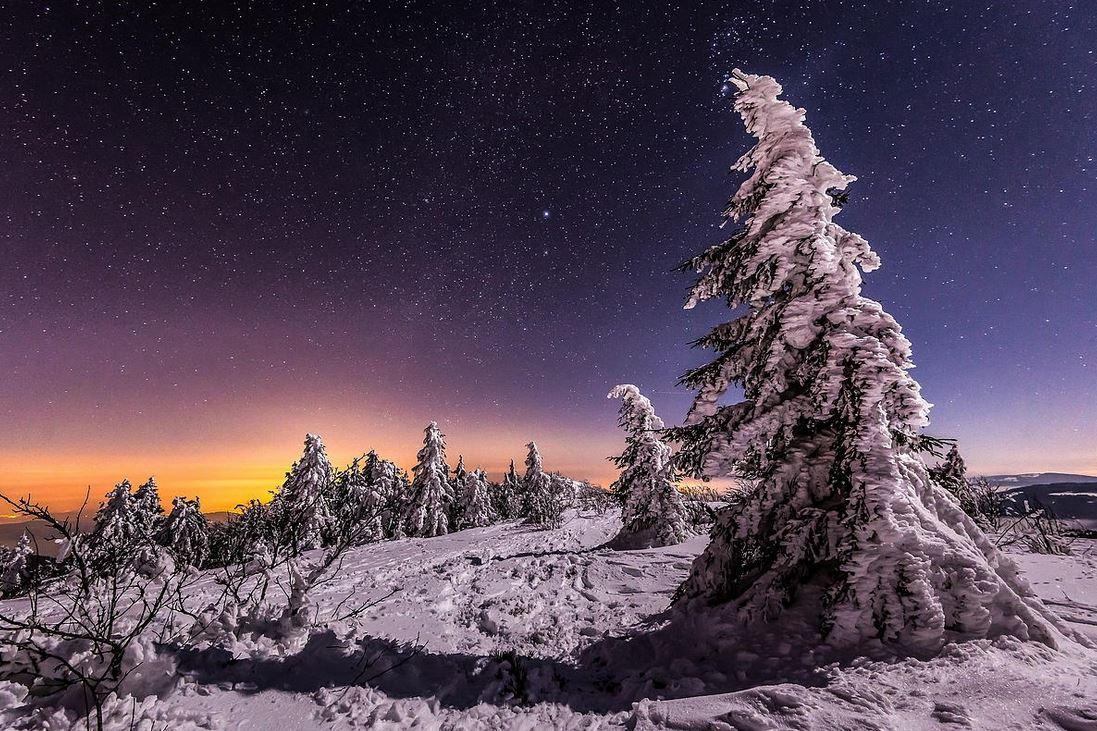 Photo of Photographie du jour #407 : Winter night – Pilat