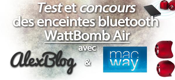 Photo of Test et concours des enceintes WattBomb Air Bluetooth Rouge – Novodio