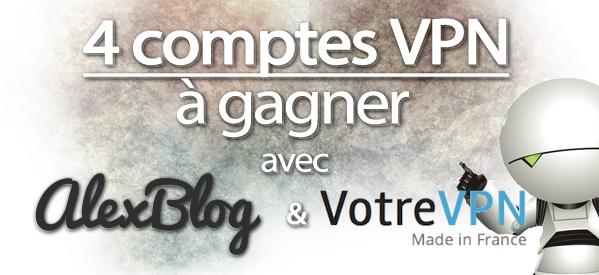 Photo of Viens gagner un des 4 accès VPN avec VotreVPN