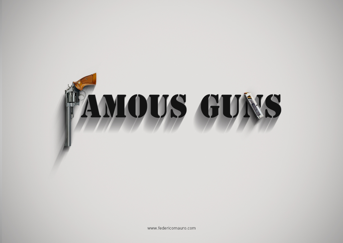 Photo of Famous Gun : illustrations par Federico Mauro